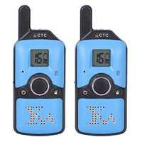 Carter Cool 2 piezas Dh-U8 Mini Walkie Talkie niños Radio 1,5 W 400-480 MHz frecuencia libre 99 canal