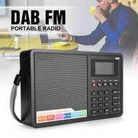 LCD Digital FM Radio DAB/DAB + Bluetooth + pantalla TFT de 1,8 pulgadas portátil altavoz Radio MP3 música reloj de alarma apoyo RDS casa regalo