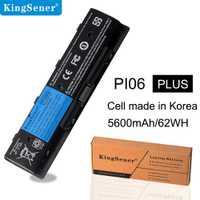 KingSener PI06 batterie d'ordinateur portable pour HP Pavilion 14 Pavilion 15 Série PI06 PI09 HSTNN-UB4N HSTNN-UB4O 710416-001 Corée Portable 62WH