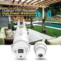 Alta potencia exterior impermeable CPE/Wifi extensor/punto de acceso/Router/WISPDual-polarizado omnidireccional antena pasiva POE