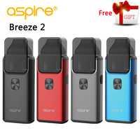 Cigarette électronique Aspire Brise 2 AIO Vaporisateur Kit Intégré 1000 mAh Batterie 3 ml/2 ml Réservoir Atomiseur vaporizador chaude VS ijust s