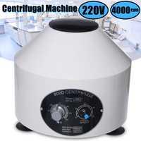 Mini centrifugeuse électrique de laboratoire de 4000 tr/min centrifugeuse de bureau à basse vitesse de Machine de pratique médicale avec la minuterie