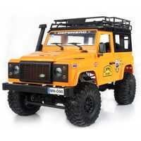 2019 nouveautés MN-90 1/12 2.4G 4WD 15 KM/h RC voiture 2 carrosserie et avant lumière LED camion à chenilles RTR jouet enfants garçons cadeau