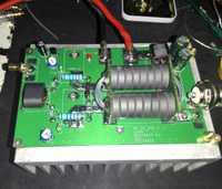 180 W HF lineal de alta frecuencia RF SSB CW amplificador de potencia Amateur FM estación de Radio KITS DIY para transceptor Intercom radio HF FM