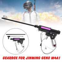 Actualización de Nylon de la caja de cambios accesorios para JinMing Gen8 M4 M4A1 Gel Bola de juguete niños juguete DIY