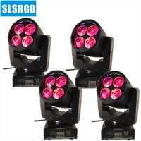 ¡4 unids/lote nuevo! LED etapa efecto luz 4x10 W RGBW 4in1 super led Luz de cabeza gresty iluminación 4X10 W mini super