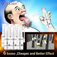 Omylady Anti pérdida de cabello Spray de aceite esencial líquido para hombres mujeres seco regeneración de cabello Reparación de productos para el cuidado del cabello