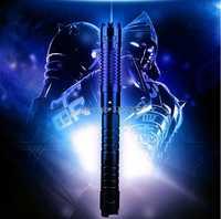 450nm de alta potencia 1000000 m azul punteros láser SOS linterna LED quemar encuentro vela cigarrillo malvada al por mayor LAZER de caza