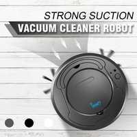 Recargable automático inteligente limpio barrido Robot aspiradora piso suciedad polvo pelo barredora para casa de vacío eléctrica limpiadores