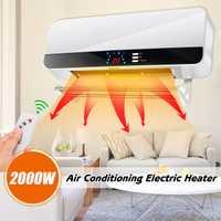 2000 W 220 V Control remoto calentador montado en la pared de Casa de ahorro de energía de calefacción baño caliente de aire acondicionado impermeable