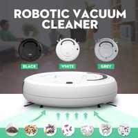 Inteligente Robot aspiradora automática barrer polvo limpiador robótico barredora de carga USB mármol piso de madera limpiando Anti-caída