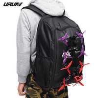 URUAV UR7 FPV sac à dos de course sac à bandoulière bandoulière étanche valise de transport sacs émetteur voyage sac à bandoulière