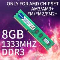 HEORIADY DDR3 8G 1333 MHz PC RAM sólo para hembra AM3 FM FM2 FM2 + COMPATIBLE con 2 GB 4 GB GB