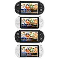 X12 portátil de 5,1 pulgadas reproductor de Video consolas de juegos con doble balancín incorporada de 2500 Juegos de soporte de tarjeta TF de hasta 32 GB
