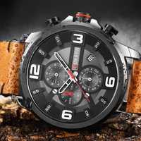 2019 relojes CURREN para hombre, relojes de lujo de marca superior, relojes deportivos de cuero militar, relojes de pulsera de cuarzo a prueba de agua, reloj Masculino