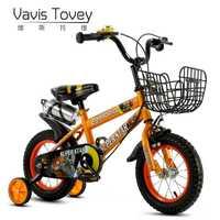 Los niños de la bicicleta de 16 pulgadas niños cochecito de 14 pulgadas bebé 2-6 años de edad los hombres y las mujeres 12 pulgadas coche cochecito de bebé flash