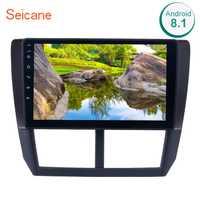 Seicane 9 pulgadas 2din Android 8,1 coche Radio para 2008 2009 2010 2011 2012 Subaru Forester GPS Unidad de cabezal de Audio reproductor Multimedia