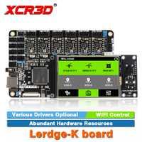 XCR3D impresora parte Lerdge-K de A4988 DRV8825 LV8729 TMC2208 los conductores opcional brazo 32Bit pantalla táctil del controlador de la placa base