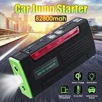Lecteur Automatique Multi-Fonction Portable 12 V Démarreur Voiture De saut 600 apic 82800 mAh amplificateur de batterie batterie Externe pour chargeur de voiture 4 port usb