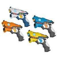 4 unids/lote láser infrarrojo Etiqueta de rayos láser paquete batalla de interior y al aire libre actividad de la familia juguetes para niños adultos envío de la gota