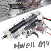 Actualización de Metal caja de cambios + cable Kit para Nwell M4 juego de Gel de agua Bola de pistolas de juguete accesorios de repuesto