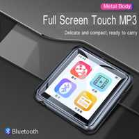Pantalla táctil completa de alta fidelidad MP3 reproductor de música Bluetooth4.1 de grabación de voz de Radio FM portátil Walkman 8G de memoria SD de 128 GB la expansión