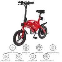 F-de DYU D3 de aleación de aluminio de la inteligente plegable bicicleta eléctrica ciclomotor bicicleta 10.4Ah batería 14 ''de 250 W motor de bicicleta eléctrica