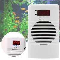 Enfriador de agua de acuario de 110 V ~ 220 V y calentador para menos de 20 l tanque marino de camarón de arrecife de Coral accesorios