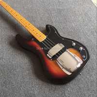 Stock 2018 nueva fábrica 4 Cuerdas bajo eléctrico color Fade precision P bass instrumentos musicales