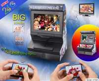 Nuevo 8 Bit 4,3 pulgadas Mini Retro inalámbrico Arcade juego portátil consola doble Joysticks gran pantalla video juego con 300 juegos