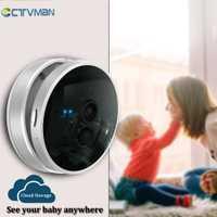 CTVMAN 1080 P WIFI CÁMARA DE CCTV de almacenamiento en la nube Cam Wi-Fi IP 2MP seguridad Webcam inalámbrico bebé Monitor para mascotas de vigilancia cámara