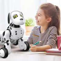 Juguetes de los niños inalámbrico interactivo Robot cachorro perro Robot de Control remoto perros juguetes para los niños las niñas de los niños regalo de cumpleaños