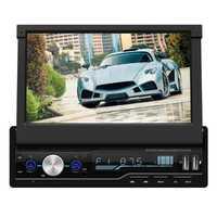 T100 7 pulgadas coche estéreo MP5 reproductor de pantalla táctil HD RDS FM Radio Bluetooth USB AUX Unidad de coche copia de seguridad Monitor