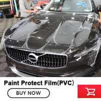 Film de Protection de peinture auto-cicatrisant PPF Ultra doux facile à installer anti-rayures 1.52m * 15m