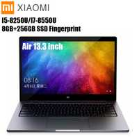 Xiaomi mi Notebook Air 13,3 Windows Intel Core 10 I5/I7 Quad Core 8 GB + 256GB SSD de huellas dactilares dual WiFi Ultrabook Ga mi ng portátil