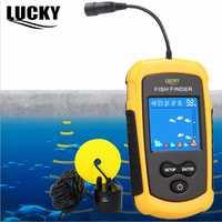 Sonar Original del buscador de peces de la suerte para la pesca Sonar el Sensor de la ecosonda LCD de 100 M de profundidad