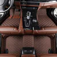 Diseñador de piso del coche esteras para TOYOTA Land Cruiser Prado J2 J15 Prius V PHV W52 más W4 fácil limpieza de coche alfombra