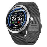 N58 montre intelligente Bracelet de sport PPG ECG HRV rapport fréquence cardiaque Test de pression artérielle IP67 Support comptage pas de Calories temps de sommeil