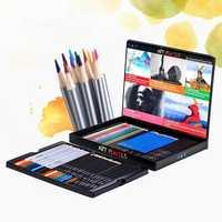 Profesional de dibujo de Color conjunto de lápiz pintura escuela de dibujo arte suministros artista pluma de colores de pintura de madera lápices 03159