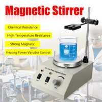 Laboratorio de Control de velocidad de 79-1 1000 ml agitador magnético de placa caliente 110/220 V sin ruido no vibración US/EU/AU enchufe suave correr