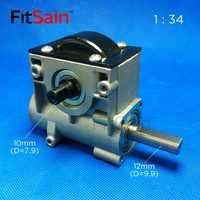 FitSain-1: 34 Cajas Reductoras reductor caja de cambios relación reductora gusano caja de cambios rodamiento de bolas