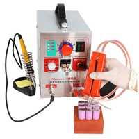 SUNKKO 709A 1.9KW 220 V punto soldadores/2/4/6/8/máquina de soldadura para la batería 18650 paquete de placa de circuito de soldadura