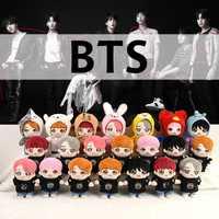 SGDOLL 2019 KPOP BTS muñeca JIMIN Suga RM J espero que Jungkook V JIN de peluche de juguete de peluche de la muñeca con 3 juegos de ropa regalo colección nueva
