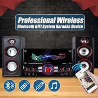 Fiesta HIFI inalámbrico sistema de Karaoke dispositivos bluetooth 3D sonido envolvente centro de música sistema relajante mismo altavoces