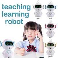 Aprender inglés inteligente interactivo Robot educación preescolar voz de Robot interactivo Wifi historia Robot de