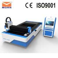 Enfriador de agua MORN máquina de corte por láser de fibra CNC de buena calidad con enfriador de agua de temperatura constante