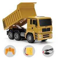 HUINA 332 1:16 cuatro ruedas RC camión de carga 1 kg niños rc camión de plástico coche de juguete