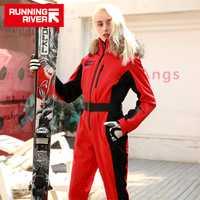 Corriendo río marca impermeable chaqueta traje de esquí de las mujeres Las mujeres esquí Snowboard chaqueta mujer Snowboard ropa # N9470