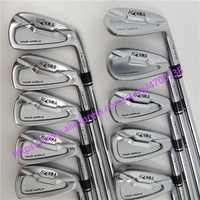 Los clubes de Golf 737 p golf hierro HONMA Tour mundo TW737p de hierro Grupo 4-10 w (9 piezas) no #3 cubierta de plata