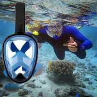 Anti-niebla buceo cara máscara seca aparato de respiración accesorios Snorkel buceo bajo el agua Aqualung